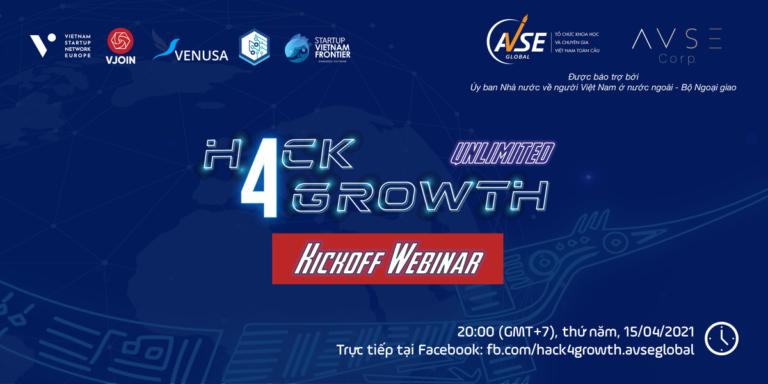 Kick-off Webinar Hack4Growth Season 2