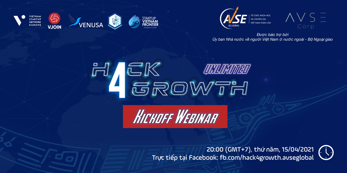 Kick-off Webinar Hack4Growth Season 2