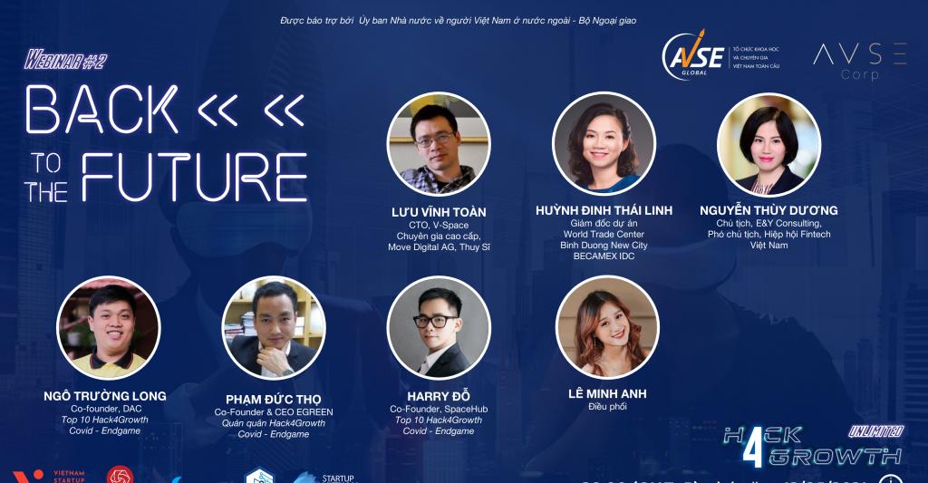 Những người đi trước, chuyên gia chia sẻ kinh nghiệm tại hội thảo trực tuyến Hack4Growth - Back to the Future